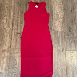 Banana Republic Factory pink midi dress XS